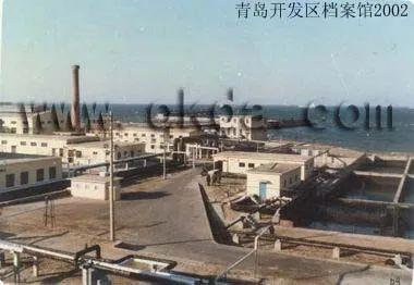 原油港码头码头一期一角 图片来源:青岛档案馆