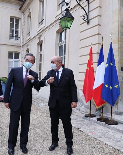 【iphonex或停产】_王毅同法国外长举行会谈,提出倡导践行多边主义的四点主张