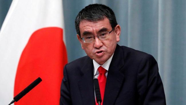 日媒:河野太郎宣布不参加自民党总裁角逐