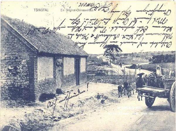 20世纪初青岛通往乡村的道路 图片来源:青岛档案馆