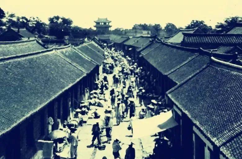 清末时期的即墨城 图片来源:青岛档案馆