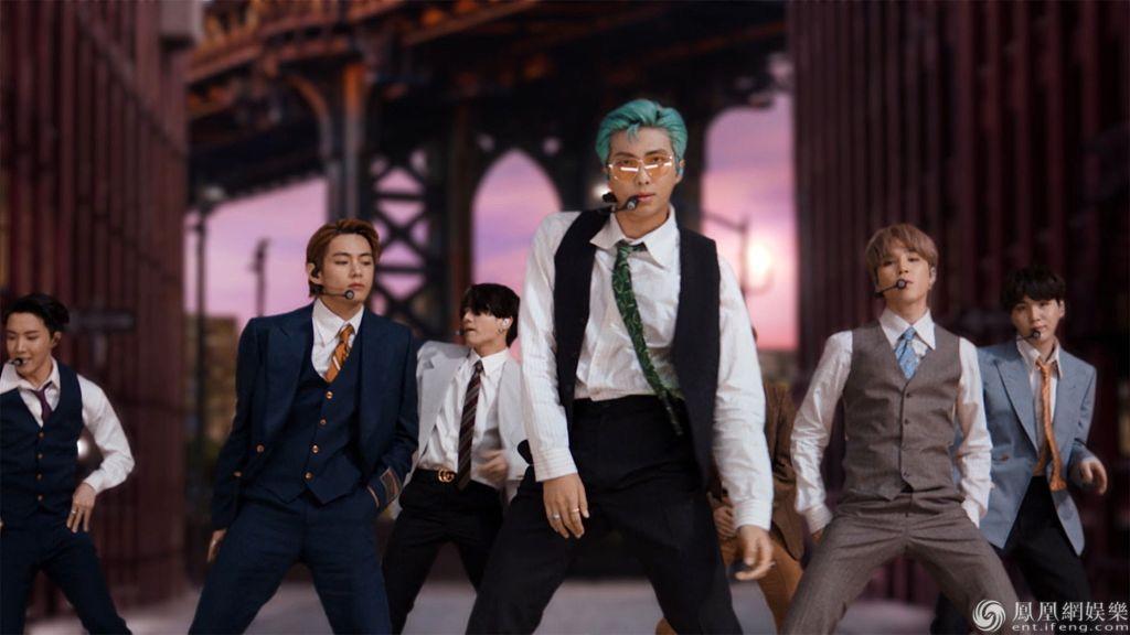 BTS防弹少年团再VMA带来《Dynamite》舞台