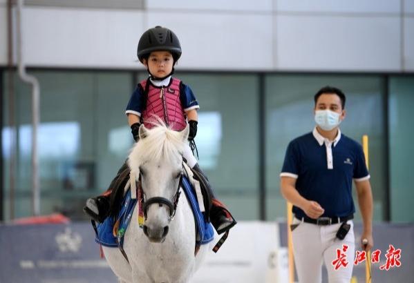 武汉22所小学开设马术公开课
