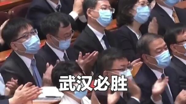 """习近平:全国人民都为""""热干面""""加油!"""