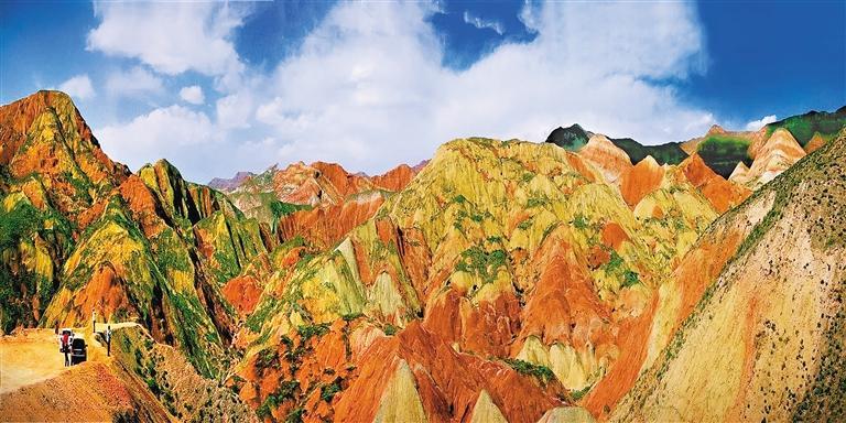 兰州树屏丹霞景区景观 照片均为贺双建 摄