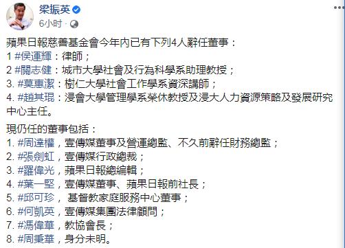 【炮兵社区app站长论坛】_黎智英旗下乱港组织4人辞任董事,有巨款去向不明