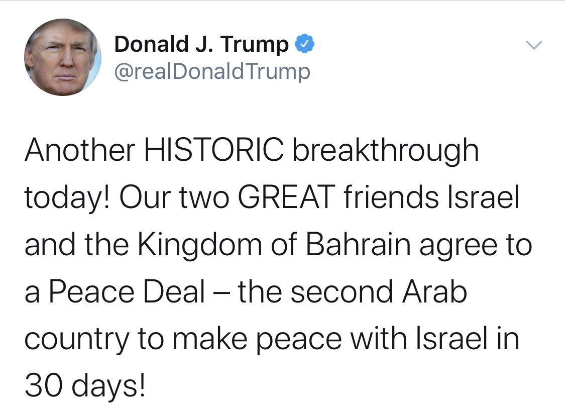 """【叶天冬】_阿联酋巴林先后与以色列建交 但特朗普的""""中东牌""""给中东挖了大坑"""