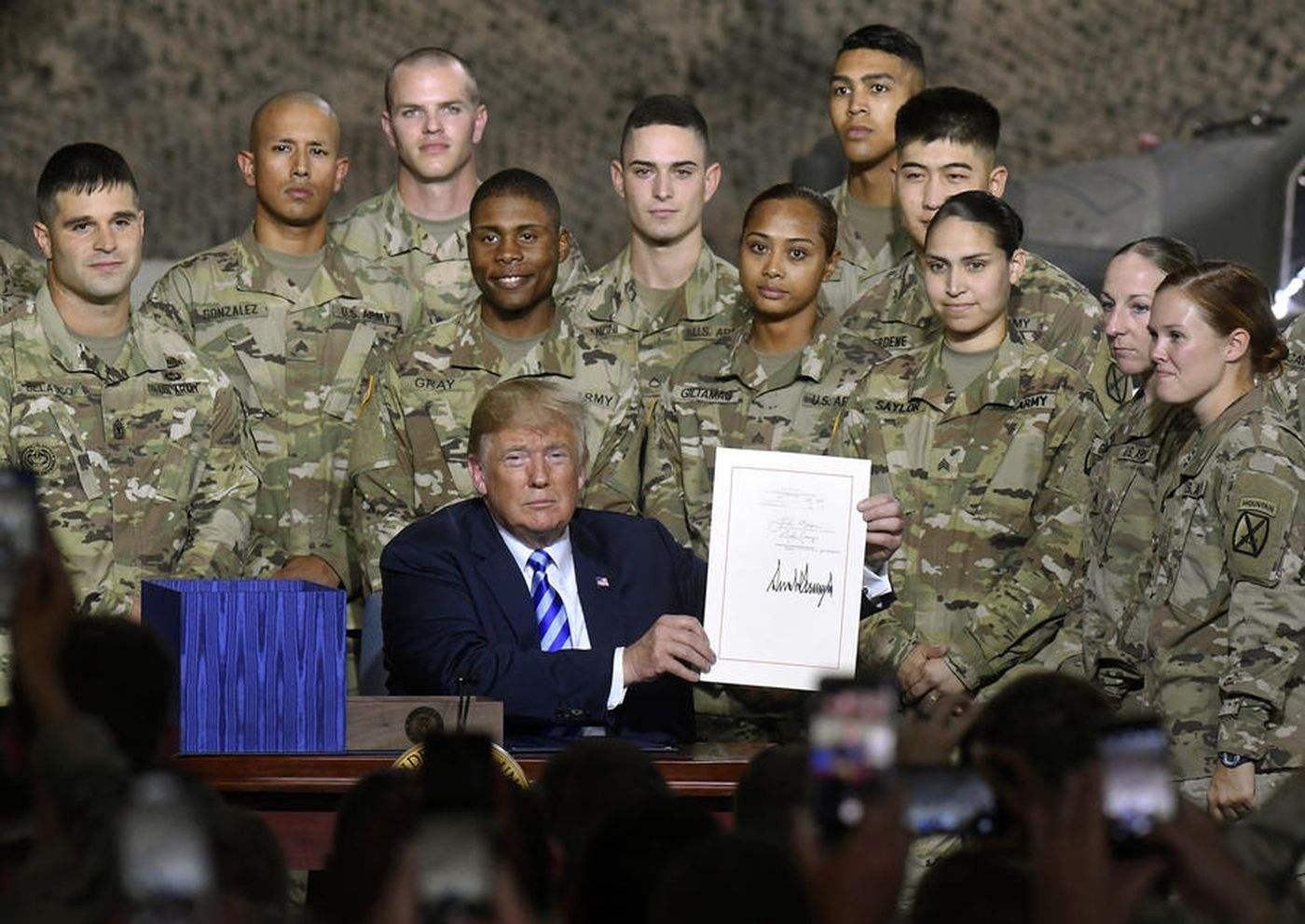 【快猫网址千牛帮】_前所未有公开攻击!特朗普批美军高层:只想打仗让军火商开心