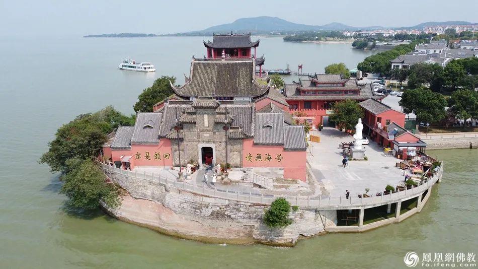 中庙寺航拍图