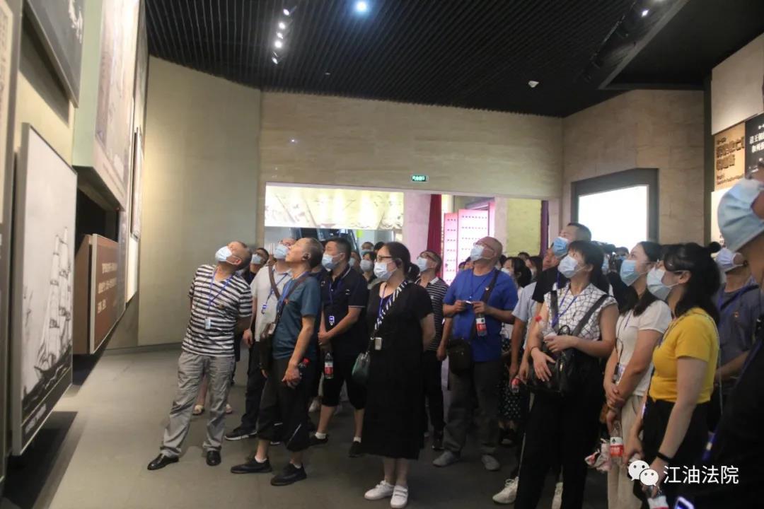 绵阳市三法院联合组织干警赴浙江大学学习