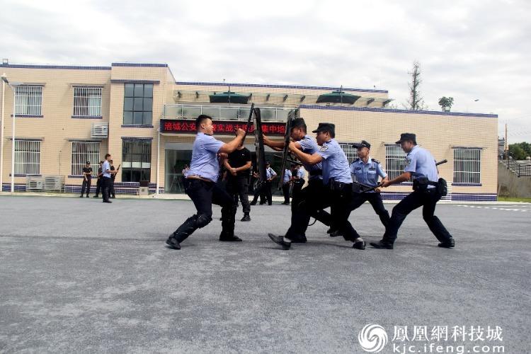 绵阳公安局涪城分局开展警务实战技能培训