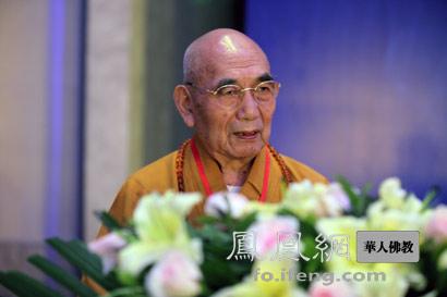 明哲长老(图片来源:凤凰网佛教 摄影:李保华)