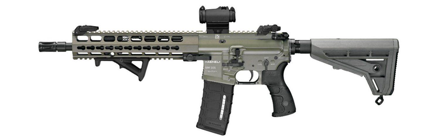 德军选定的新一代自动步枪MK556