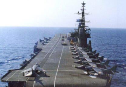 虽然印度航母和舰载机一直不算先进,但仍让巴基斯坦只能望洋兴叹