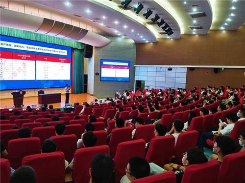 中铁四局集团来合肥学院开展校园宣讲会