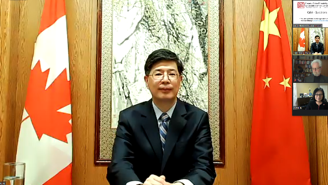 中国驻加大使:加方应拿出独立国家姿态,妥善解决孟晚舟事件