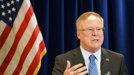 傅德恩将担任美国驻华使馆临时代办