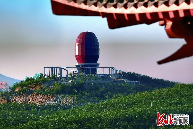大枣园区观景平台 米进英摄