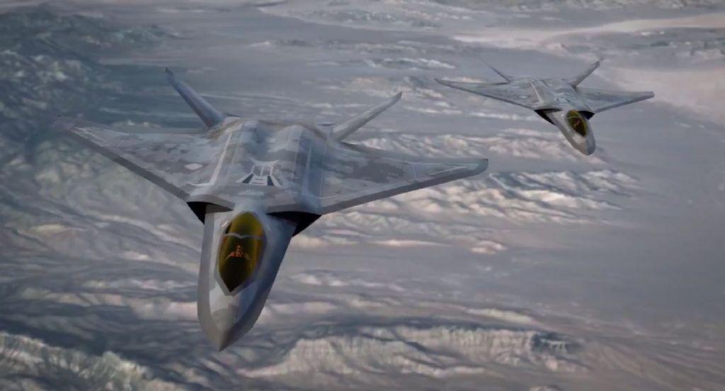 美军六代机研制进展意外曝光 已造出验证机并进行试飞