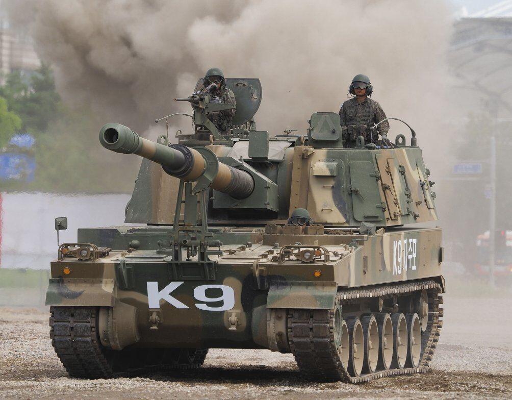 韩国K-9自行火炮