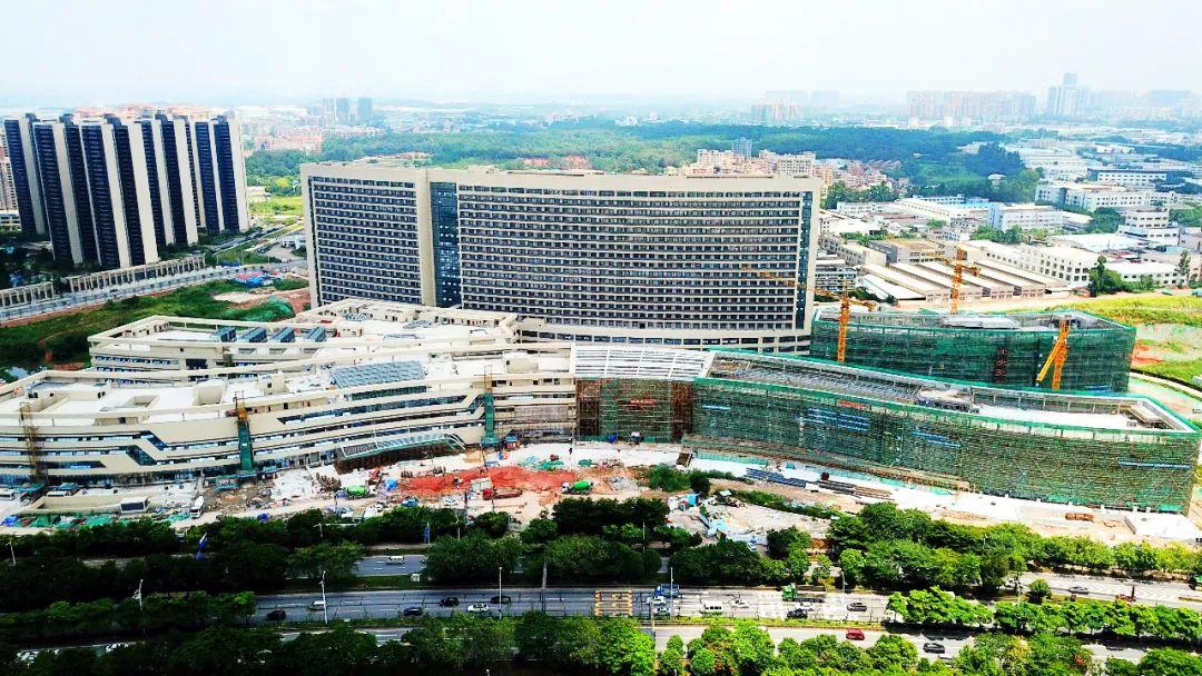 南海人民医院新院区加快建设中