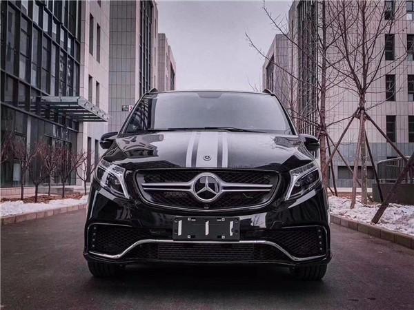 奔驰V260L改装商务车LV款国六九速订制