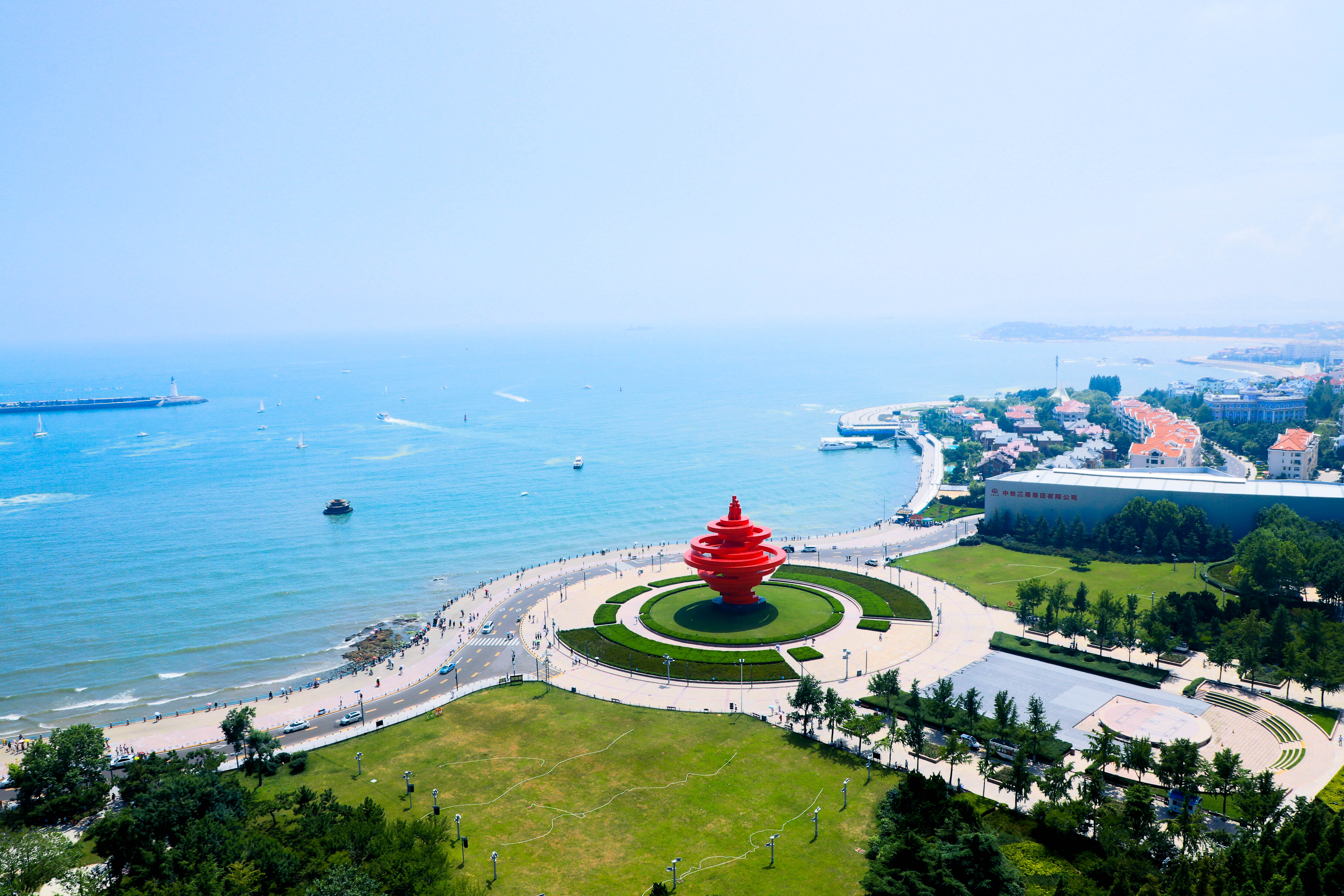 """青岛蓝海股权交易中心夯实资本市场""""塔基"""""""
