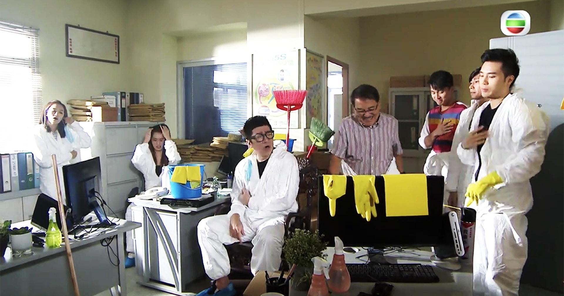 TVB热播剧现14秒乱港手势 观众罢看 导演被解雇(图1)