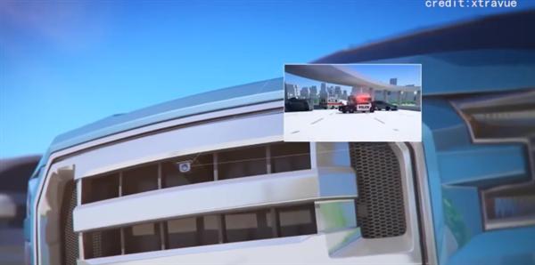 """汽车拥有""""透视眼""""!法国一公司研发出有分享摄像头系统 可获取前车视线"""