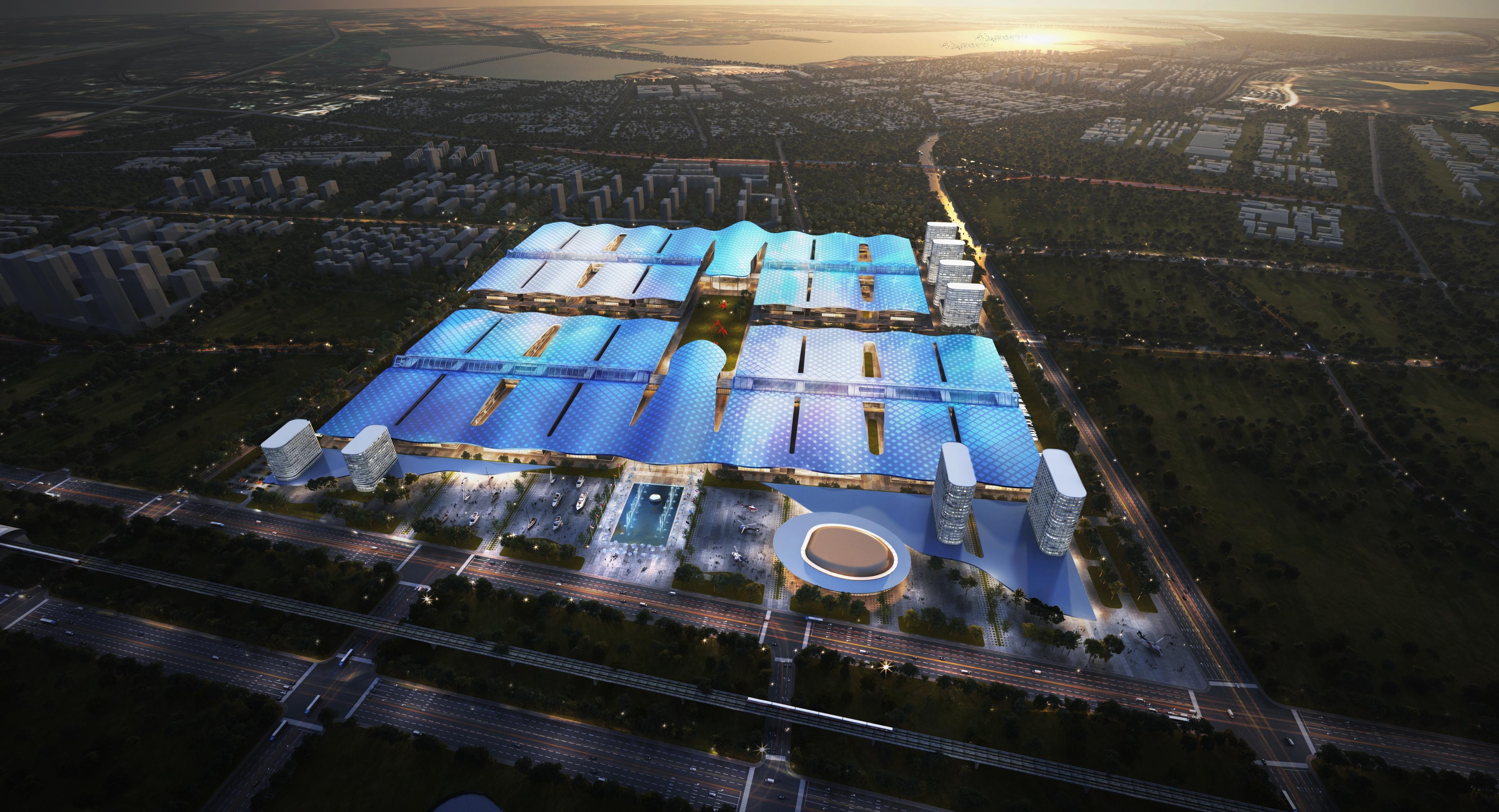天河国际会展中心动工开建 武汉迈向世界级会展之城