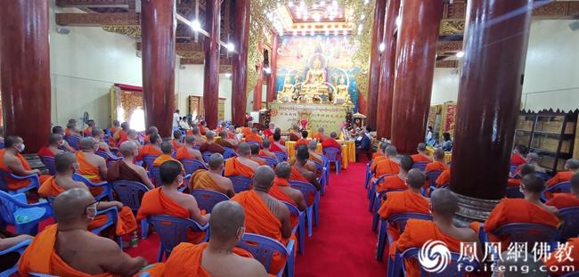 云南南传佛教2020年讲经交流会(图片来源:凤凰网佛教 摄影:云南省佛教协会)