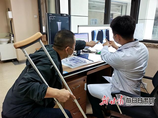 陈国栋与患者详细分析病理