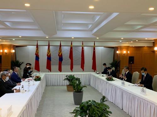 蒙古国总统会见王毅:增加对华优质农牧产品、煤炭出口