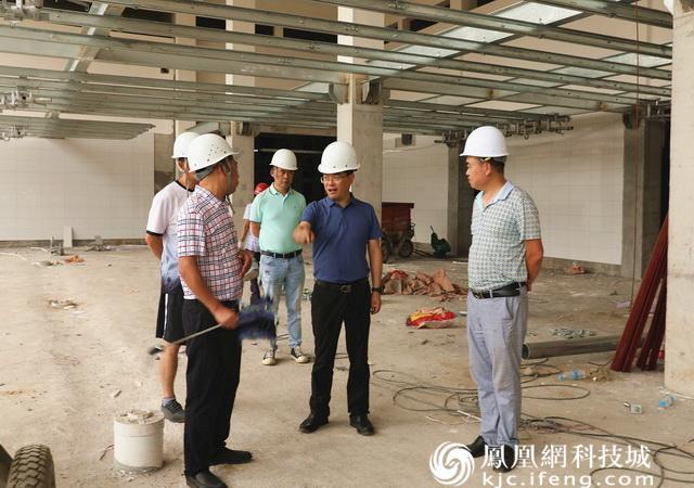 绵阳市农业农村局调研生猪定点屠宰场项目工程建设情况