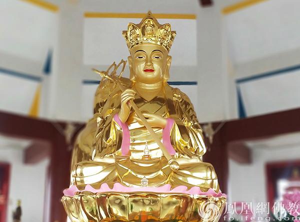 湖北咸宁石门寺地藏菩萨圣像(图片来源:凤凰网佛教 摄影:能诚法师)