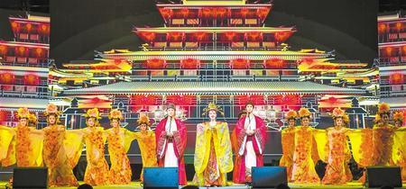 黄河之滨艺术节主题乐舞《相约千年》剧照 郭一
