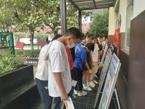 乐清市翁垟街道开展禁毒志愿青春行之毒品预防教育进校园活动