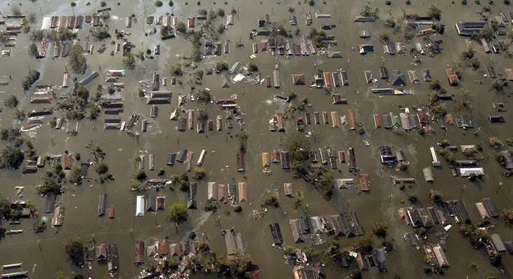卡特里娜飓风后
