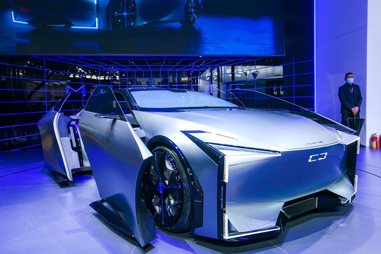 MILESTONE概念车全球首发 观致汽车携全新技术与产品