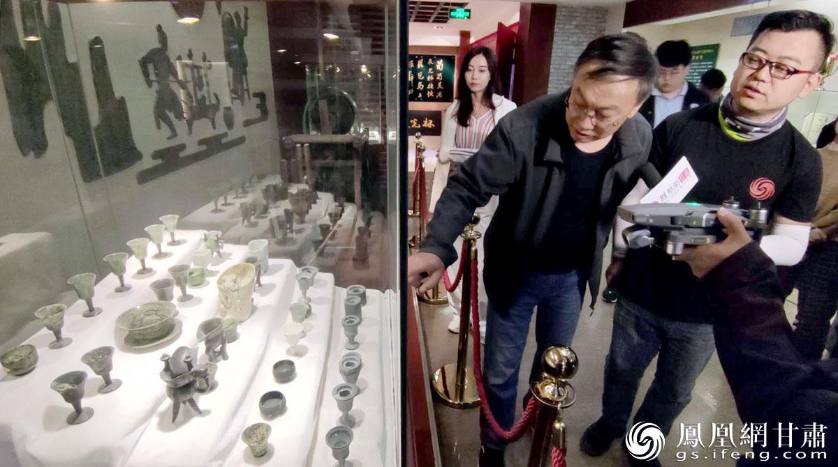 """""""丝路人""""探访首批国家级非物质文化遗产、中国国家地理标志产品——酒泉夜光杯的制作基地 肖刚 摄"""