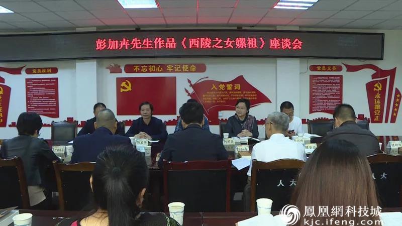 《西陵之女嫘祖》文学剧本座谈会在盐亭县举行