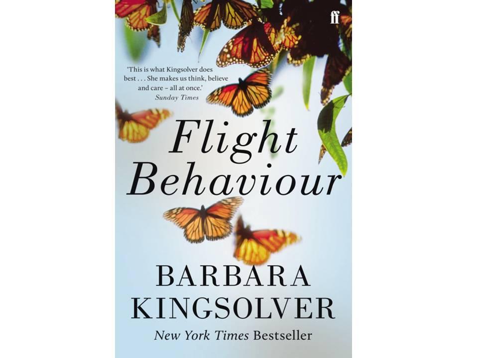 《迁徙行为》(Flight Behaviour)原版书封