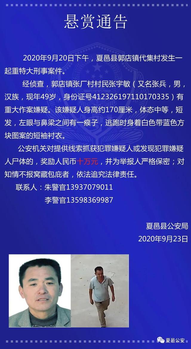 【徐静蕾的博客】_河南商丘一重大刑案嫌犯被抓 警方曾悬赏10万元征集线索