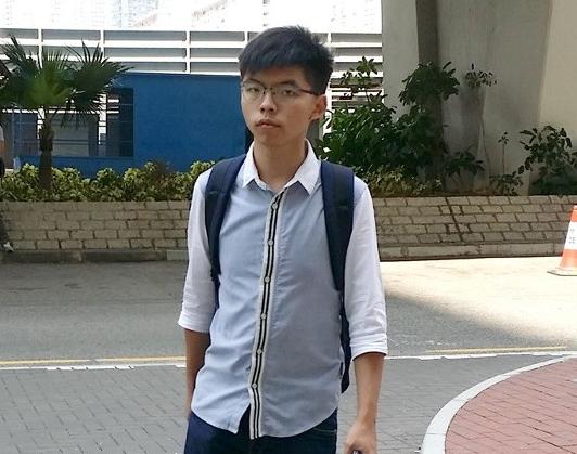 【网站流量统计】_乱港分子黄之锋被捕