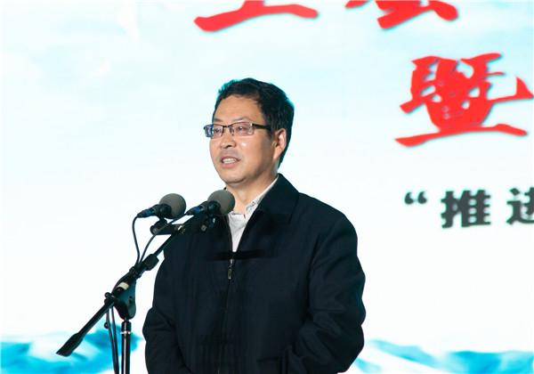 省总工会党组书记、常务副主席包俊宗出席活动并致辞。