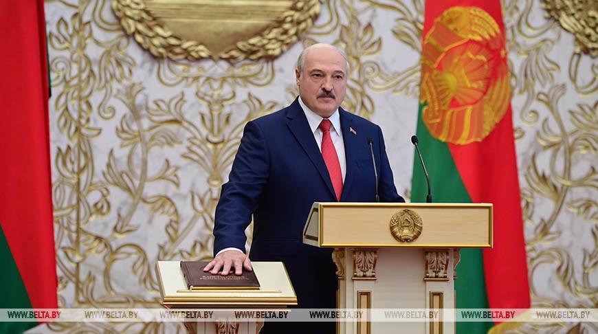 【三个土念什么字】_卢卡申科正式就任白俄罗斯总统