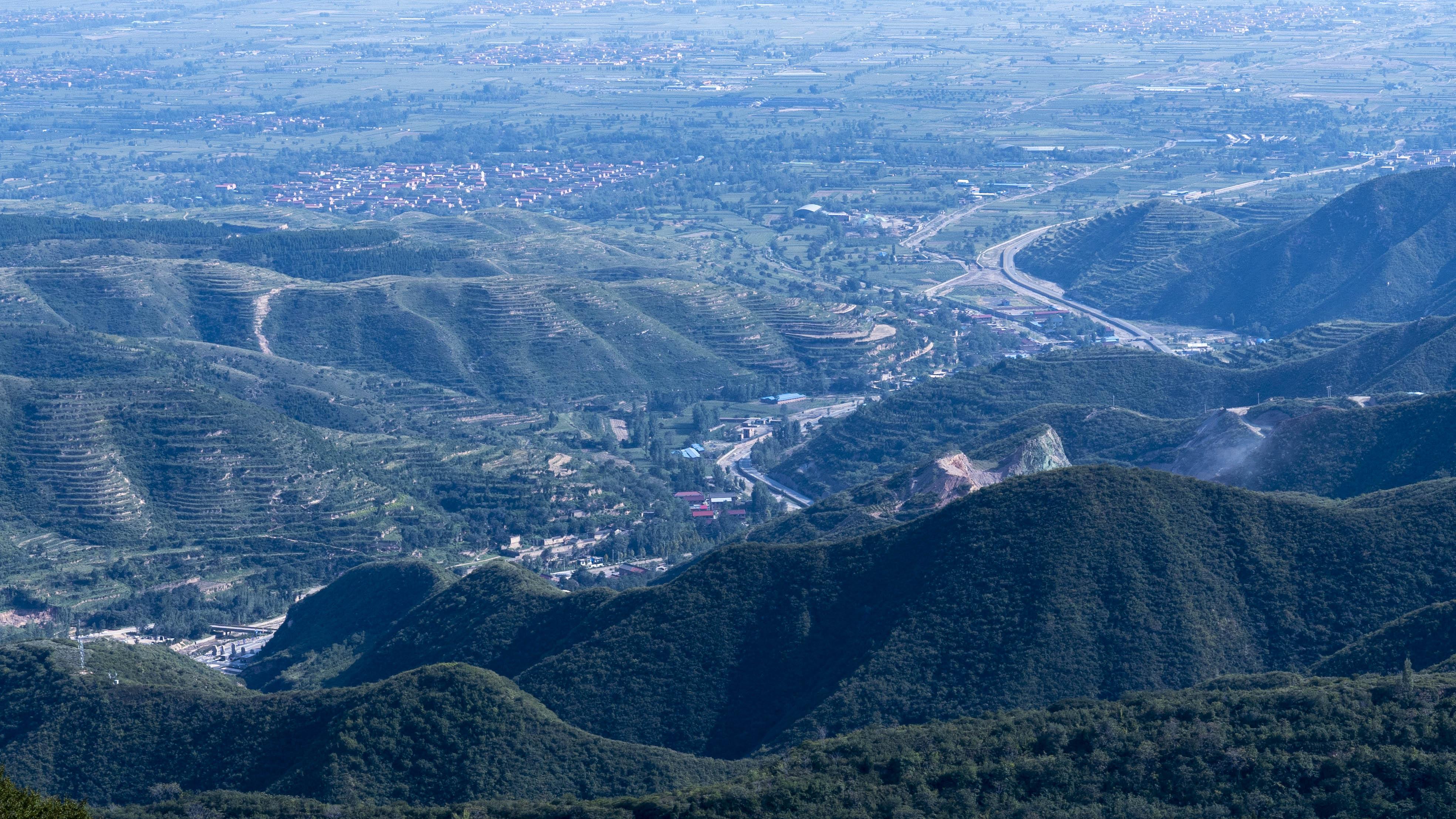 图为云丘山景区