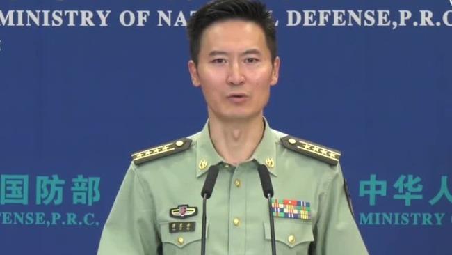 120秒看国防部新任发言人首场记者会 密集回应台海、中美问题