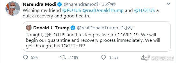 【彩乐园2注册进入12dsncom】_印度总理莫迪第一时间发推:希望特朗普夫妇早日康复