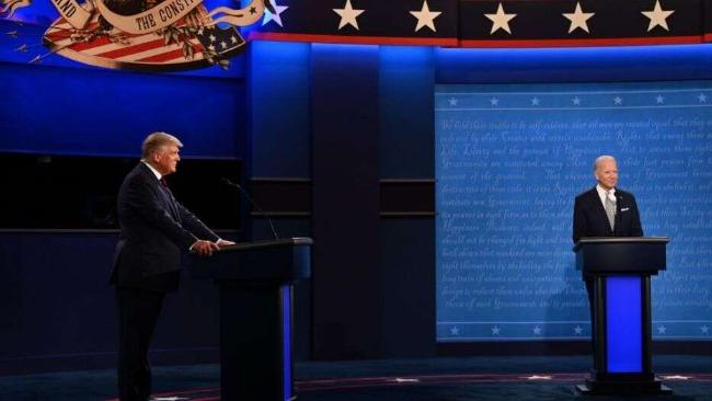 美国大选首场辩论开打:特朗普拜登同台交锋 聚焦六大主题